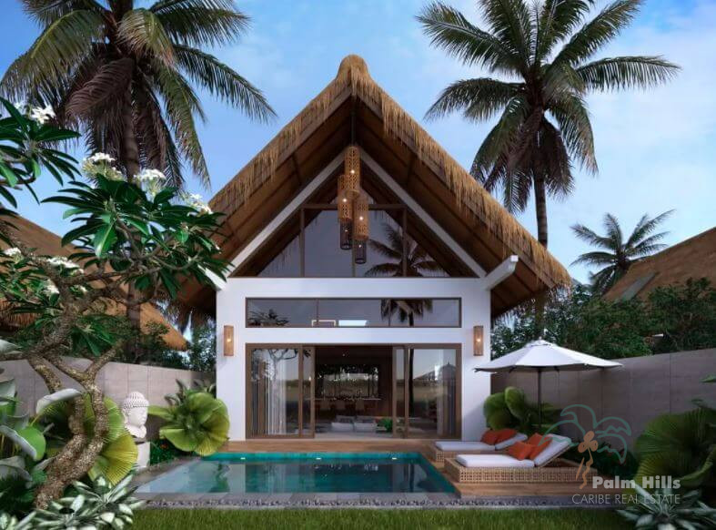 Bungalow in Cabarete center 30 meters from the beach (New Build)
